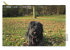 Carry-all Pouch featuring the photograph Autumn Portrait by Vicki Spindler