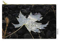 Autumn Rain Carry-all Pouch by Katie Wing Vigil