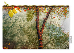 Carry-all Pouch featuring the photograph Autumn Reflection  by Peggy Franz