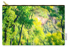 Autumn Road Through Zion Carry-all Pouch