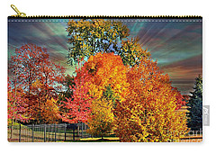 Autumn Splendor Carry-all Pouch by Judy Palkimas