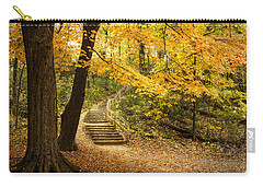 Autumn Stairs Carry-all Pouch
