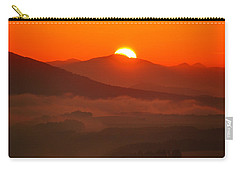 Autumn Sunrise On The Lilienstein Carry-all Pouch