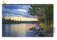 Autumn Sunset At Lake Carry-all Pouch