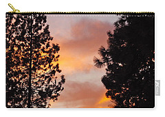 Autumn Sunset Carry-all Pouch by Michele Myers