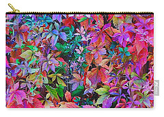 Autumn Virginia Creeper Carry-all Pouch by Diane Alexander