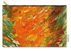 Carry-all Pouch featuring the painting Autumn Wind by Joan Reese
