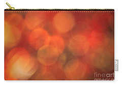 Autumnal Amber Carry-all Pouch by Jan Bickerton