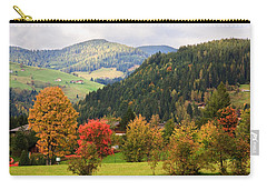 Autumnal Colours In Austria Carry-all Pouch