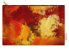 Autumn's Abstract Beauty Carry-all Pouch by Lourry Legarde