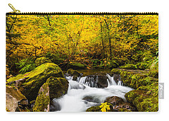Autumn's Beginnings Carry-all Pouch by Patricia Davidson