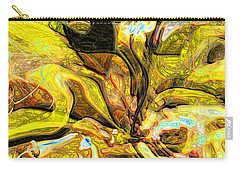 Autumn's Bones Carry-all Pouch by Richard Thomas