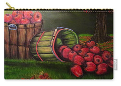 Carry-all Pouch featuring the painting Autumn's Bounty In The Volunteer State by Kimberlee Baxter