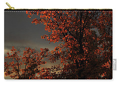 Autumn's First Light Carry-all Pouch by James Eddy