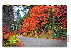 Carry-all Pouch featuring the photograph Autumn's Glory by Lynn Bauer