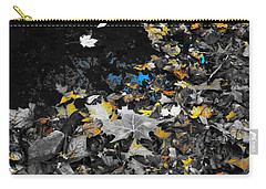 Carry-all Pouch featuring the photograph Autumn's Last Color by Photographic Arts And Design Studio
