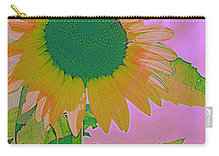 Autumn's Sunflower Pop Art Carry-all Pouch