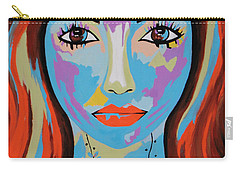 Carry-all Pouch featuring the painting Avani by Kathleen Sartoris