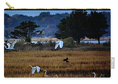 Aviary Convention Carry-all Pouch by Robert McCubbin