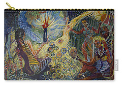 Avonelle's Tribe Carry-all Pouch by Avonelle Kelsey