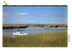 Carry-all Pouch featuring the photograph Awaiting Adventure by Gordon Elwell