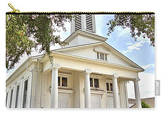 Carry-all Pouch featuring the photograph Awaiting The Congregation by Gordon Elwell