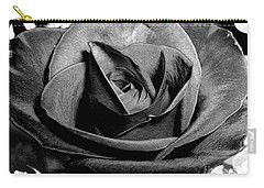 Awakened Black Rose Carry-all Pouch