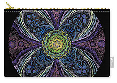 Carry-all Pouch featuring the painting Awakening by Keiko Katsuta