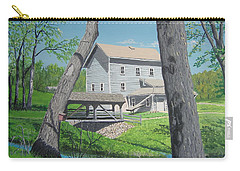 Award-winning Painting Of Beckman's Mill Carry-all Pouch by Norm Starks