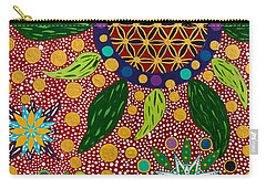 Ayahuasca Vision - The Opening Of The Heart Carry-all Pouch