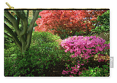 Azaleas In Spring In National Carry-all Pouch