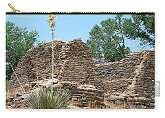 Aztec Ruins National Monument Carry-all Pouch by Laurel Powell