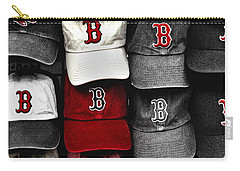 B For Bosox Carry-all Pouch by Joann Vitali