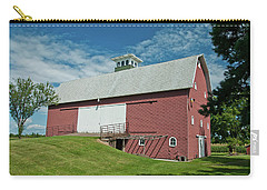 Carry-all Pouch featuring the photograph Babcock Barn 2263 by Guy Whiteley