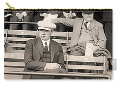 Babe Ruth In The Stands At Griffith Stadium 1922 Carry-all Pouch by Mountain Dreams