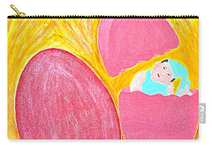 Baby Egg Carry-all Pouch by Lorna Maza