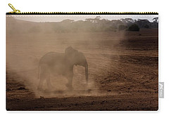 Carry-all Pouch featuring the photograph Baby Elephant  by Amanda Stadther