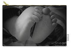 Baby Feet Carry-all Pouch by Barbara Bardzik