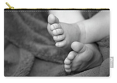 Baby Feet Carry-all Pouch by Carolyn Marshall