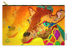 Baby Giraffe 2a Carry-all Pouch