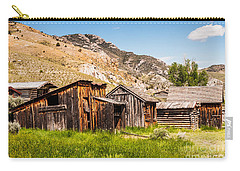 Carry-all Pouch featuring the photograph Bachelors Row by Sue Smith