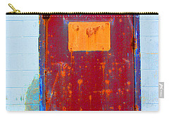 Carry-all Pouch featuring the photograph Back Door by Christiane Hellner-OBrien