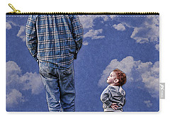 Back In The Day Carry-all Pouch by Denise Romano