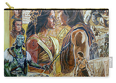 Back To Mars Carry-all Pouch by Bryan Bustard