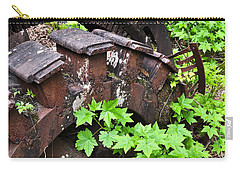 Carry-all Pouch featuring the photograph Back To The Forest by Cathy Mahnke