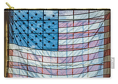 Backlit American Flag Carry-all Pouch