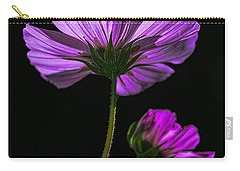 Carry-all Pouch featuring the photograph Backlit Blossoms by Marty Saccone