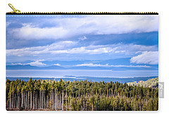 Johnstone Strait High Elevation View Carry-all Pouch
