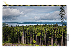 Logging Road Landscape Carry-all Pouch