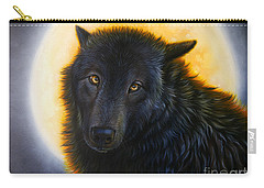 Bad Girls Have Halos Too Carry-all Pouch by Sandi Baker